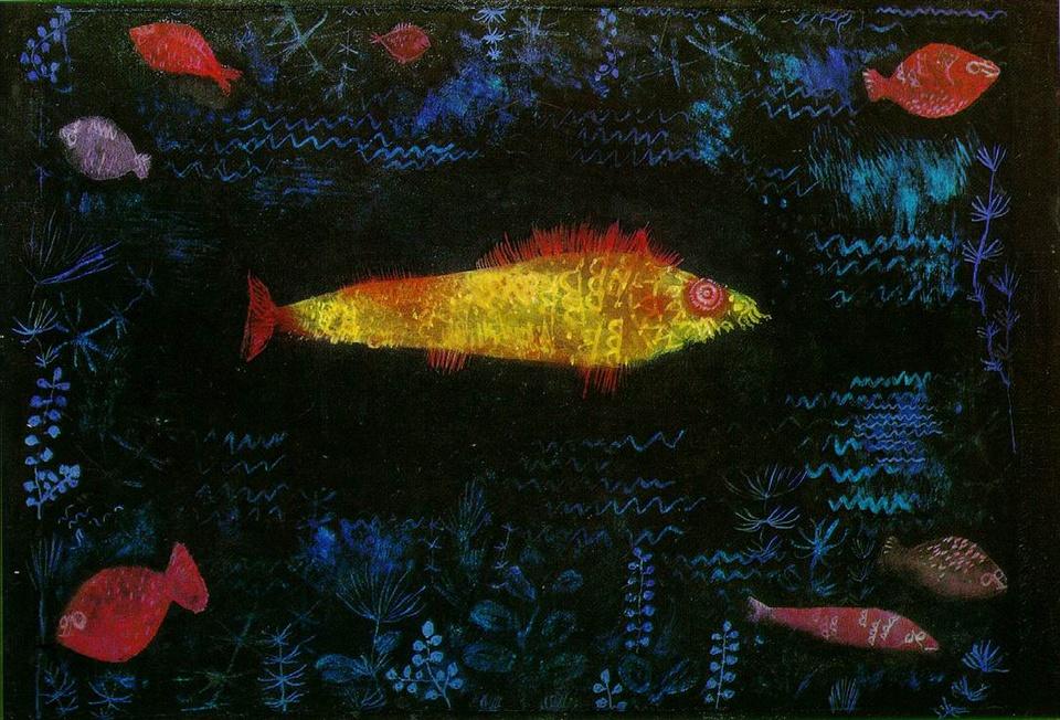 パウル・クレー Der Goldfisch